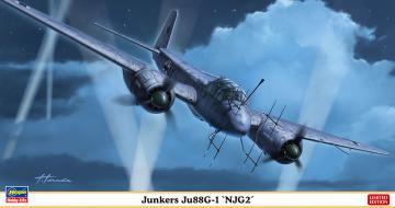 Junkers Ju 88 G-1 NJG2 · HG 602358 ·  Hasegawa · 1:72