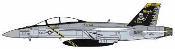 FA-18F Super Hornet, VFA 103, Jolly Rogers, 75th anniversary · HG 602380 ·  Hasegawa · 1:72