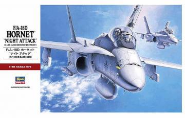 F-18D Hornet - Night Attack · HG 607203 ·  Hasegawa · 1:48