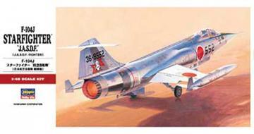 F-104J Starfighter JASDF · HG 607218 ·  Hasegawa · 1:48