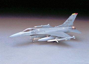 F-16CJ Fighting Falcon, Misawa Japan · HG 607232 ·  Hasegawa · 1:48
