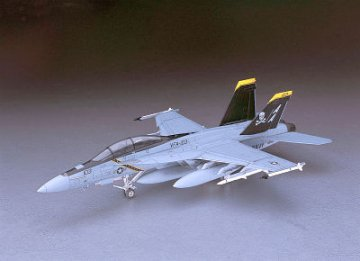 F/A-18F Super Hornet · HG 607238 ·  Hasegawa · 1:48