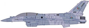 F-16F (Block 60) Fighting Falcon · HG 607244 ·  Hasegawa · 1:48