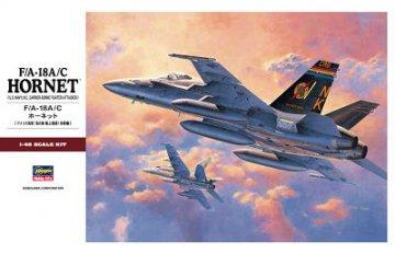 F/A-18A/C HORNET · HG 607250 ·  Hasegawa · 1:48