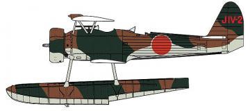 Nakajima E8N1 Type 95 Dave, Kreuzer Maya · HG 607479 ·  Hasegawa · 1:48
