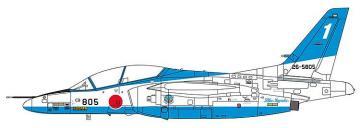 Kawasaki T4 Blue Impulse 2019 · HG 607480 ·  Hasegawa · 1:48