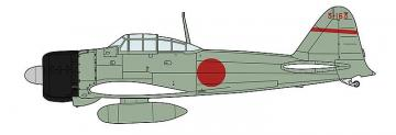 Mitsubishi A6M2a Zero Fighter 11, 12th Flying Group · HG 607489 ·  Hasegawa · 1:48