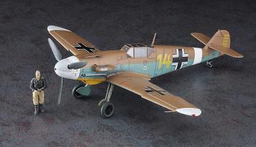 Messerschmitt  Me BF 109 F-4 Trop, Star of Africa · HG 607491 ·  Hasegawa · 1:48