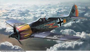 Focke-Wulff FW 190A-4, Graf · HG 607492 ·  Hasegawa · 1:48