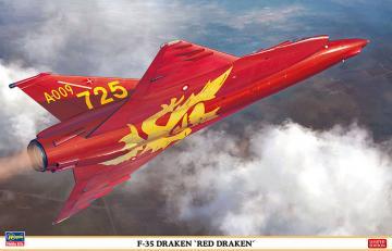 F-35 Draken, Red Draken · HG 607495 ·  Hasegawa · 1:48