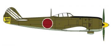 Nakajima Ki84 Type 4, Frank, 73rd Flight Regiment · HG 607501 ·  Hasegawa · 1:48