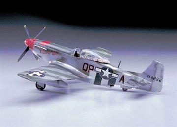 P-51D Mustang · HG 608055 ·  Hasegawa · 1:32