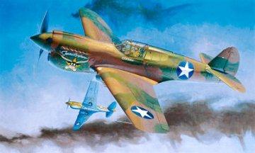 P-40E Warhawk · HG 608879 ·  Hasegawa · 1:32