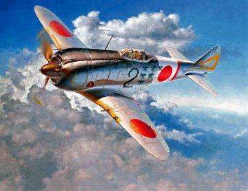 1/32  Nakajima Ki44-II Hei Shoki (Tojo) · HG 608880 ·  Hasegawa · 1:32