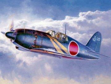 Mitsubishi J2M3 Raiden (Jack) type 21 · HG 608882 ·  Hasegawa · 1:32