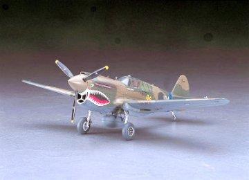 P-40E Warhawk USAAF · HG 609086 ·  Hasegawa · 1:48