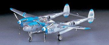 P-38J Lightning · HG 609101 ·  Hasegawa · 1:48