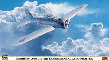Mitsubishi A6M1 12-SHI Experimental Zero Fighter · HG 609840 ·  Hasegawa · 1:48