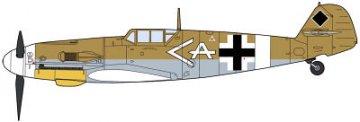Messerschmitt Bf 109 G-2 Trop W. Schroer · HG 609853 ·  Hasegawa · 1:48
