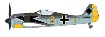 Focke-Wulf Fw 190 A-3/A-4 Eagle head · HG 609942 ·  Hasegawa · 1:48