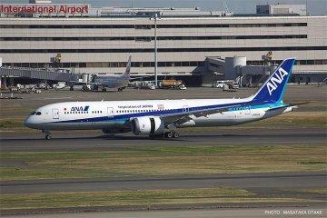 ANA B787-9 · HG 610721 ·  Hasegawa · 1:200