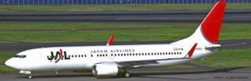 JAL B737-800 · HG 610736 ·  Hasegawa · 1:200
