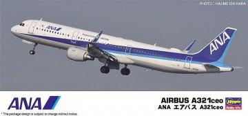 ANA Airbus A321ceo · HG 610827 ·  Hasegawa · 1:200