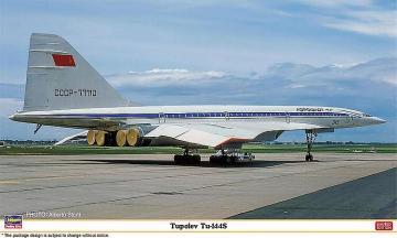 Tupolev Tu-144s · HG 610837 ·  Hasegawa · 1:144