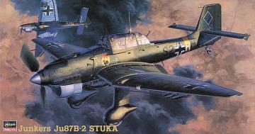 Junkers Ju87B-2 Stuka · HG 619113 ·  Hasegawa · 1:48