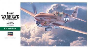 P-40N Warhawk · HG 619188 ·  Hasegawa · 1:48