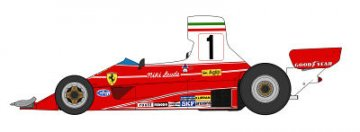 Ferrari 312T 1976 Brazil GP Winner · HG 620248 ·  Hasegawa · 1:20