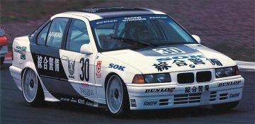 BMW 318i, JTCC SOK · HG 620326 ·  Hasegawa · 1:24