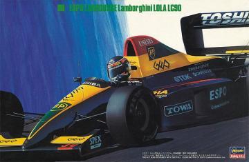 Espo Larrousse LC90 · HG 620330 ·  Hasegawa · 1:24