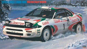 Toyota Celica Turbo 4WD,1993 RAC Sieger · HG 620358 ·  Hasegawa · 1:24