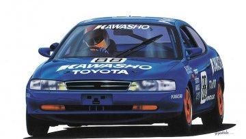 Kawasho Corolla Levin · HG 620367 ·  Hasegawa · 1:24