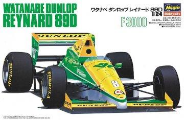 Watanabe Dunlop Reynard 89D · HG 620370 ·  Hasegawa · 1:24