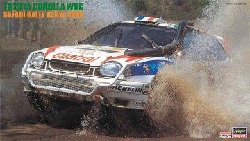 Toyota Corolla WRC, Safari Rally Kenia 1998 · HG 620371 ·  Hasegawa · 1:24