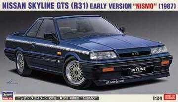 Nissan Skyline GTS R31, Nismo · HG 620378 ·  Hasegawa · 1:24