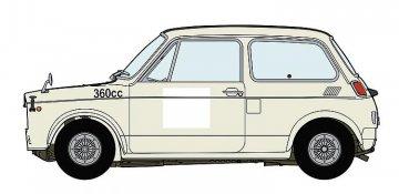 Honda N360 NI Renn-Version · HG 620392 ·  Hasegawa · 1:24