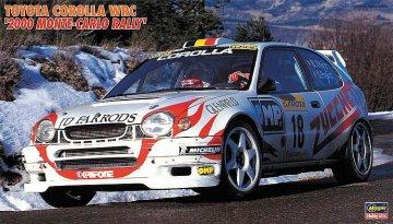 Toyota Corolla WRC, 2000 Monte Carlo Rally · HG 620396 ·  Hasegawa · 1:24