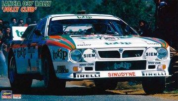 Lancia 037 Rally Jolly Club · HG 620399 ·  Hasegawa · 1:24