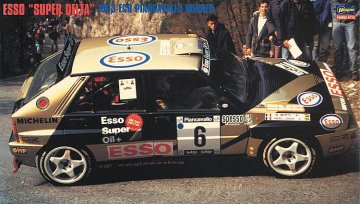 Lanica Delta, 1993 ECR Piancavallo Winner · HG 620402 ·  Hasegawa · 1:24