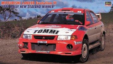 Mitsubishi Lancer EVO VI, Gewinner Rally NZ 1999 · HG 620415 ·  Hasegawa · 1:24
