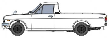 Nissan Sunny Truck mit Spoiler · HG 620427 ·  Hasegawa · 1:24
