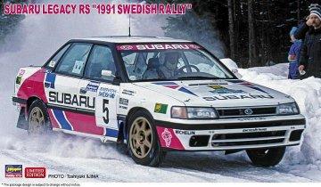 Subaru Legacy RS, 1991 Swedish Rally · HG 620432 ·  Hasegawa · 1:24