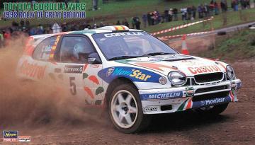 Toyota Corolla WRC, 1998 Rally of Great Britain. · HG 620438 ·  Hasegawa · 1:24