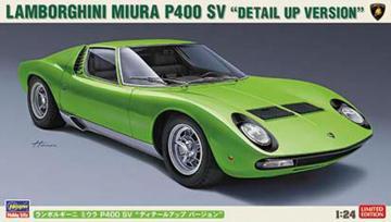 Lamborghini Miura P400 SV Detail-Version · HG 620439 ·  Hasegawa · 1:24
