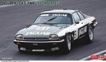 Jaguar XJ-S HE TWR, 1986 Inter Tec · HG 620444 ·  Hasegawa · 1:24