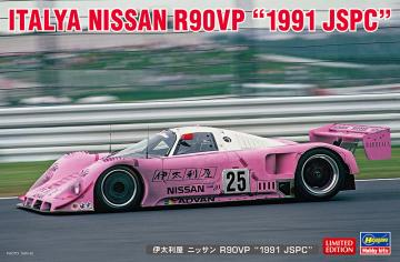 Italya Nissan R90VP, 1991JSPC · HG 620462 ·  Hasegawa · 1:24
