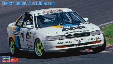 Trust Corolla Levin AE101 · HG 620463 ·  Hasegawa · 1:24